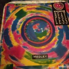 "Discos de vinilo: NEW BEAT LESS - MEDLEY (12"") SELLO:STEP CAT. Nº: STP00902. COMO NUEVO . MINT / NEAR MINT. Lote 236847285"