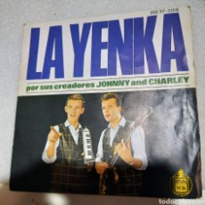 Discos de vinilo: JOHNNY AND CHARLEY - LA YENKA. Lote 236857980