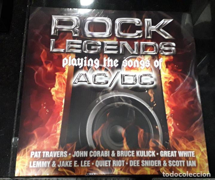 MUSICA LP HEAVY ROCK LEGEND PALYING AC/DC DOBLE PRECINTADO LEMMY QUIET RIOT RAINBOW Y&T KISS RATT (Música - Discos - LP Vinilo - Heavy - Metal)