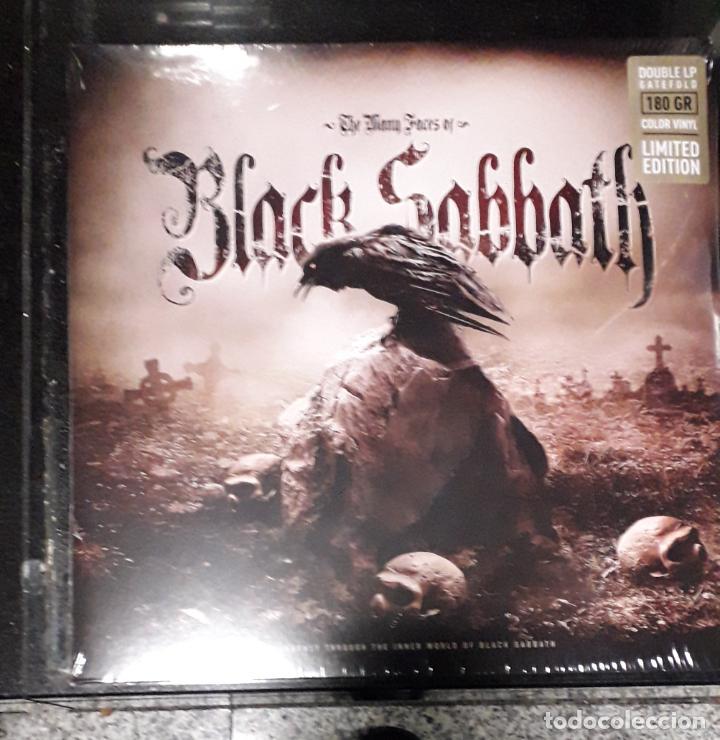 MUSICA LP HEAVY MANY FACES BLACK SABBATH DOBLE PRECINTADO ED LIMITADA (Música - Discos - LP Vinilo - Heavy - Metal)