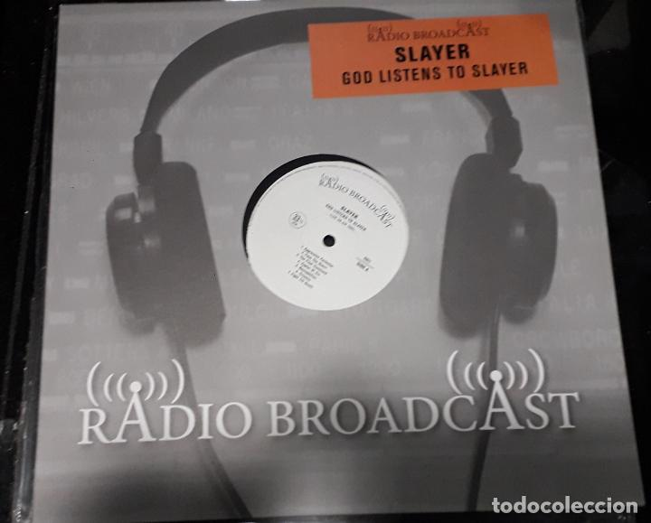 MUSICA LP HEAVY SLAYER GOD LISTENS TO SLAYER CONCIERTOS RADIO LIVE ON AIR 1984 (Música - Discos - LP Vinilo - Heavy - Metal)