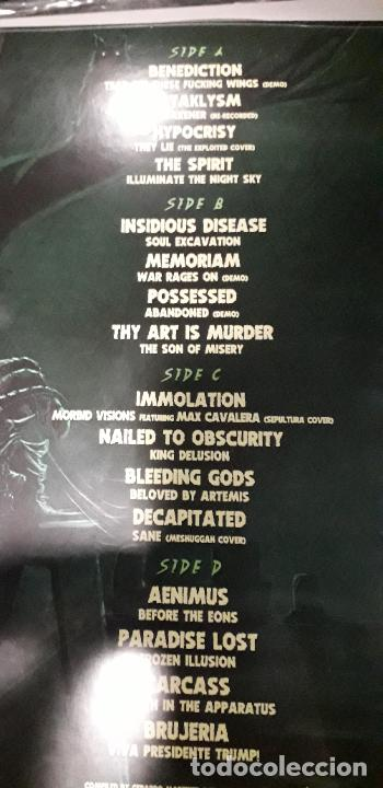 Discos de vinilo: musica lp heavy death is just the beginning mmxxviii possessed inmolation decapitated carcass brujer - Foto 3 - 236862045