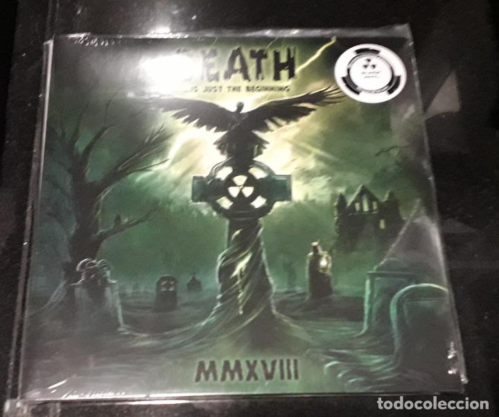 MUSICA LP HEAVY DEATH IS JUST THE BEGINNING MMXXVIII POSSESSED INMOLATION DECAPITATED CARCASS BRUJER (Música - Discos - LP Vinilo - Heavy - Metal)