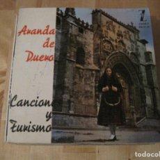 Discos de vinilo: EP ARANDA DE DUERO ZAFIRO 17-13 + LIBRETO ELIA RICO CONCHITA BAUTISTA NELLA COLOMBO SALOME. Lote 236866535