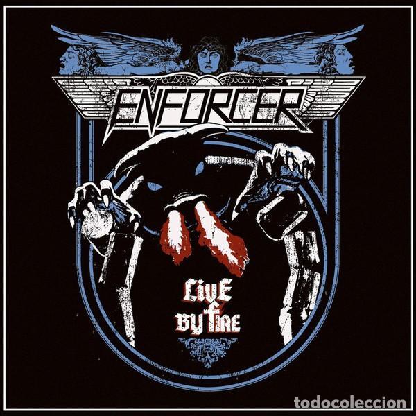 LP ENFORCER - LIVE BY FIRE - BACK ON BLACK BOBV577LPLTD - NUEVO / PRECINTADO !!!* (Música - Discos - LP Vinilo - Heavy - Metal)