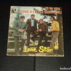 Discos de vinilo: LONE STAR SINGLE ES MI VIDA. Lote 236874275