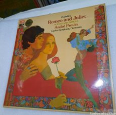Discos de vinilo: ANDRE PREVIN & THE LONDON SYMPHONY ORCHESTRA - ROMEO AND JULIET. SCENES AND DANCES. Lote 236874480