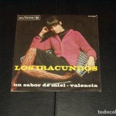 Discos de vinilo: IRACUNDOS SINGLE VALENCIA. Lote 236874580