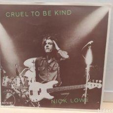 Discos de vinilo: NICK LOWE–CRUEL TO BE KIND . SINGLE EDICIÓN UK 1979. BUEN ESTADO. Lote 236874655