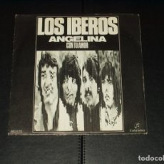 Discos de vinilo: IBEROS SINGLE ANGELINA. Lote 236874930