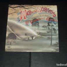 Discos de vinilo: LA GUERRA DE LOS MUNDOS SINGLE B.S.O.. Lote 236875570