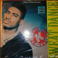 Discos de vinilo: LOTE 2 DISCO HIP HOUSE. K-YZE – SWEAT DANCE Y DJ JESUS. Lote 236875825