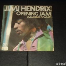 Discos de vinilo: JIMI HENDRIX SINLE OPENING JAM. Lote 236876675
