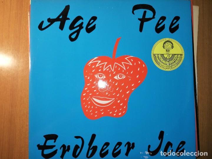 LOTE 2 DISCO HOUSE. S.A.M. JAM - OO LA LA LA – 1990 Y AGE PEE – ERDBEER ICE (Música - Discos de Vinilo - Maxi Singles - Techno, Trance y House)