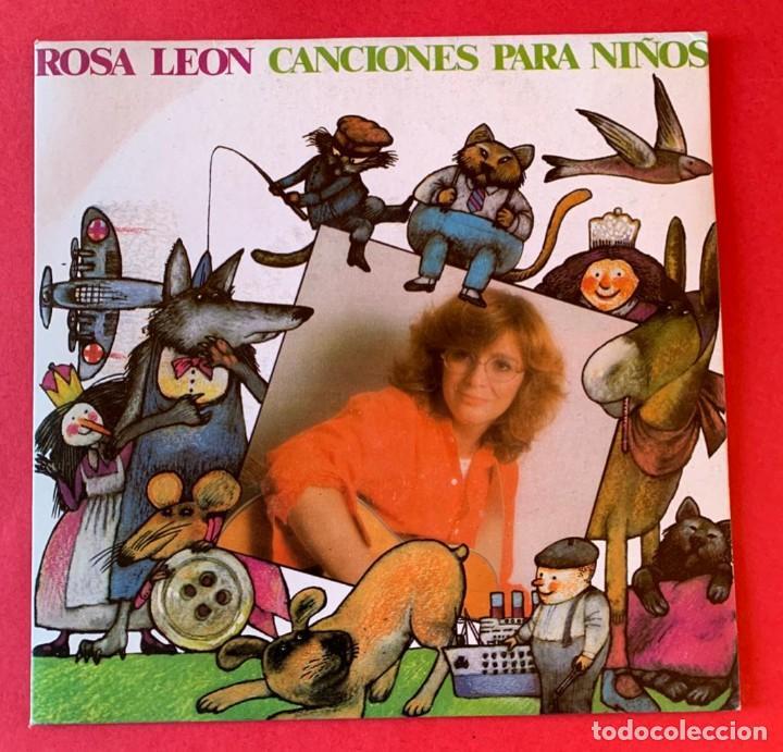 DISCO EP ROSA LEON CANCIONES PARA NIÑOS (Música - Discos de Vinilo - EPs - Solistas Españoles de los 70 a la actualidad)