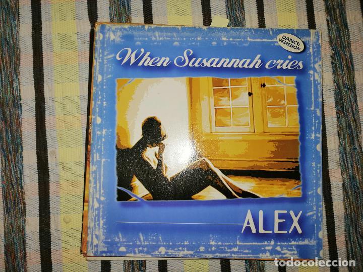 LOTE 2 DISCO DISCO/DANCE. ALEX WHEN SUSANNAH CRIES Y KC FLIGHTT VOICES (Música - Discos de Vinilo - Maxi Singles - Disco y Dance)