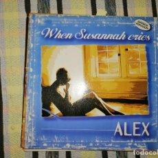 Discos de vinilo: LOTE 2 DISCO DISCO/DANCE. ALEX WHEN SUSANNAH CRIES Y KC FLIGHTT VOICES. Lote 236882195