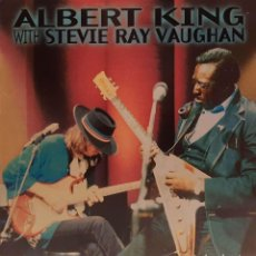 Discos de vinilo: ALBERT KING WITH STEVIE RAY VAUGHAN – IN SESSION. Lote 236884050