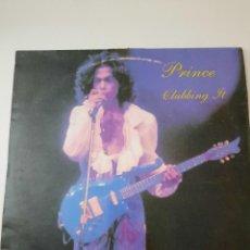 Discos de vinilo: PRINCE – CLUBBING IT EXIT RECORDS FRANCE 1988. Lote 236833640