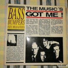 Discos de vinilo: LOTE 2 DISCO EURO HOUSE. BASS BUMPERS – THE MUSIC'S GOT ME Y THE MUSIC'S GOT ME REMIXES. Lote 236884580