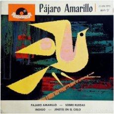 Discos de vinilo: LOS PLAYBOYS (DIE PLAYBOYS) - PÁJARO AMARILLO - EP SPAIN 1961 - POLYDOR 21 696 EPH. Lote 236888205