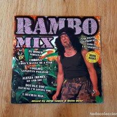 Discos de vinilo: RAMBO MIX (2 LP'S). Lote 236888595