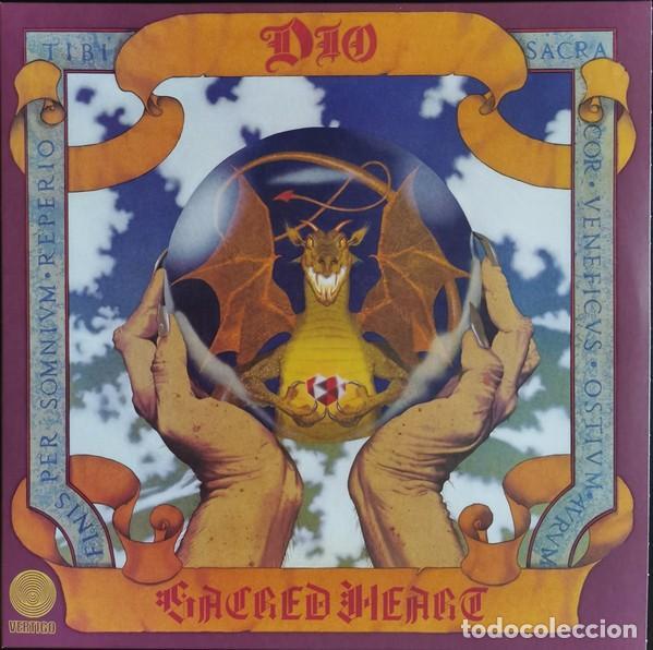 DIO – SACRED HEART LP (Música - Discos - LP Vinilo - Heavy - Metal)