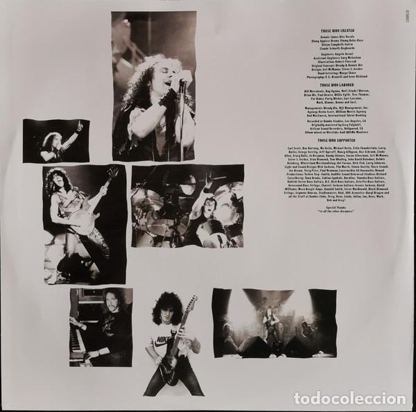 Discos de vinilo: Dio – Sacred Heart lp - Foto 4 - 236897245