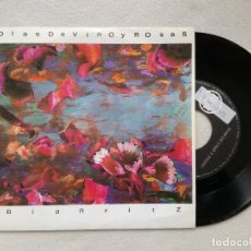 Discos de vinilo: DIAS DE VINO Y ROSAS - BIARRITZ (ARIOLA) SINGLE. Lote 236900300