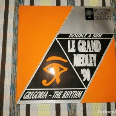 Discos de vinilo: LOTE 2 DISCO DOWNTEMPO. LE GRAND MEDLEY '90 Y INNOCENCE-NATURAL THING (THE COLLISION MIX). Lote 236902105