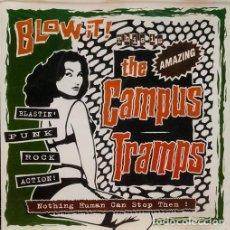Discos de vinilo: THE CAMPUS TRAMPS – BLOW IT!. - LP. Lote 189951265