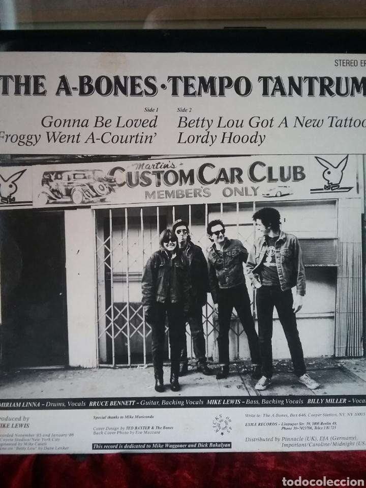 "Discos de vinilo: THE A- BONES 1986 10"" EXILE RECORDS - Foto 2 - 236912120"