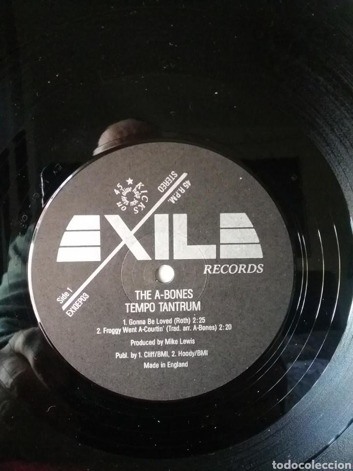 "Discos de vinilo: THE A- BONES 1986 10"" EXILE RECORDS - Foto 3 - 236912120"