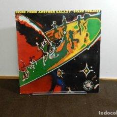 Discos de vinilo: DISCO VINILO LP. SPACE PROJECT – DISCO FROM ANOTHER GALAXY. 33 RPM.. Lote 236914140