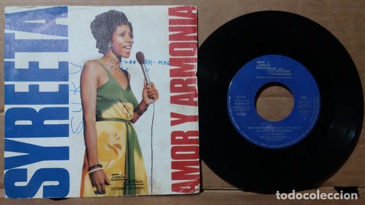 SYREETA / AMOR Y ARMONIA / SINGLE 7 INCH (Música - Discos - Singles Vinilo - Pop - Rock - Extranjero de los 70)
