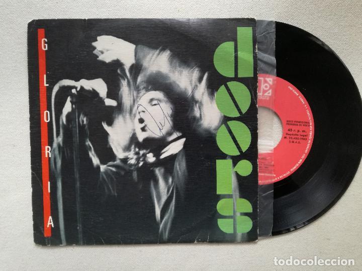 DOORS - GLORIA (WEA) SINGLE ESPAÑA PROMOCIONAL - THE (Música - Discos - Singles Vinilo - Pop - Rock - Extranjero de los 70)