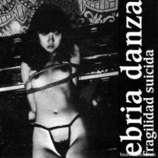 Discos de vinilo: EBRIA DANZA FRAGILIDAD SUICIDA - EP VINILO. Lote 263298735