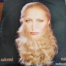 Disques de vinyle: MINA - SALOMÉ ********LP DOBLE GATEFOLD ITALIANO PDU 1981. Lote 272255558
