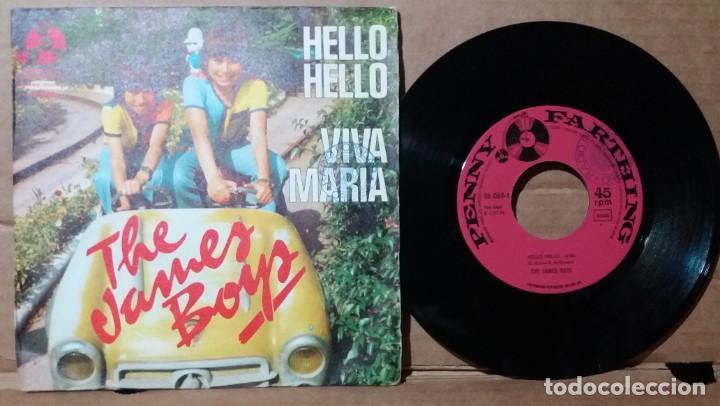 THE JAMES BOYS / HELLO HELLO / SINGLE 7 INCH (Música - Discos - Singles Vinilo - Pop - Rock - Extranjero de los 70)