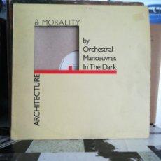 Discos de vinilo: OMD - ARCHITECTURE & MORALITY. Lote 236923095