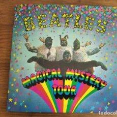Discos de vinilo: THE BEATLES - MAGICAL MYSTERY TOUR EP ***** RARO EP FRANCÉS STEREO EN GRAN ESTADO, CON FUNDAS INT.. Lote 236923695