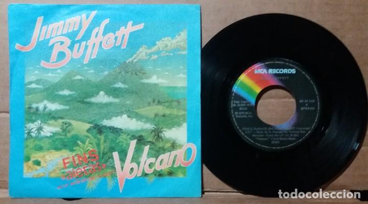 JIMMY BUFFETT / FINS / SINGLE 7 INCH (Música - Discos - Singles Vinilo - Pop - Rock - Extranjero de los 70)