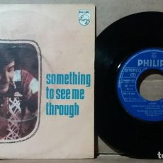 Discos de vinilo: LOBO / SOMETHING TO SEE ME THROUGH ‎/ SINGLE 7 INCH. Lote 236926445