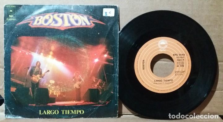 BOSTON / LARGO TIEMPO / SINGLE 7 INCH (Música - Discos - Singles Vinilo - Pop - Rock - Extranjero de los 70)