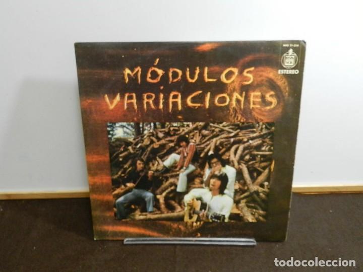 DISCO VINILO LP. MODULOS – VARIACIONES. 33 RPM. (Música - Discos - LP Vinilo - Solistas Españoles de los 50 y 60)