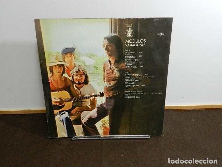 Discos de vinilo: DISCO VINILO LP. Modulos – Variaciones. 33 RPM. - Foto 2 - 236929155