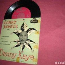 Discos de vinilo: DANNY KAYE EP THE COURT JESTER PART 1 VER FOTO OE 9218 ENGLAND. Lote 236935170