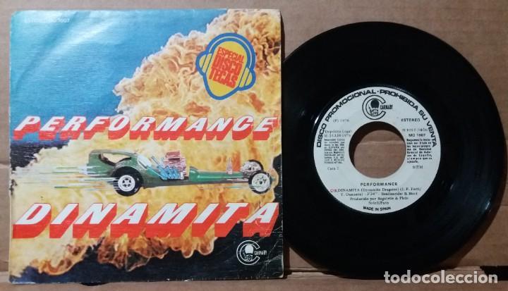 PERFORMANCE / DINAMITA / SINGLE 7 INCH (Música - Discos - Singles Vinilo - Pop - Rock - Extranjero de los 70)