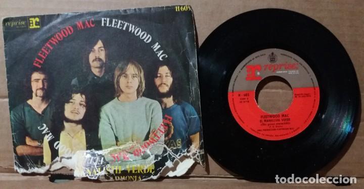 FLEETWOOD MAC / EL MANALISHI VERDE / SINGLE 7 INCH (Música - Discos - Singles Vinilo - Pop - Rock - Extranjero de los 70)