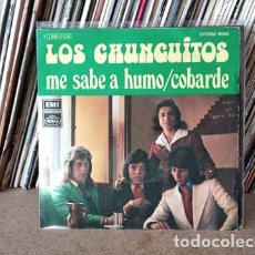 Discos de vinilo: LOS CHUNGUITOS - ME SABE A HUMO. Lote 236946730